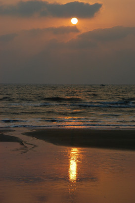 Goan sunset, 2008