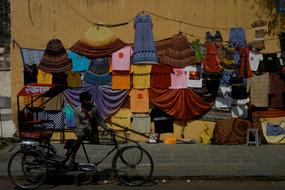Rickshaw, Jaipur, Rajasthan, India, 2008