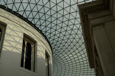 British Museum ceiling, 2014