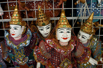 Thai Puppets, Bangkok, 2008