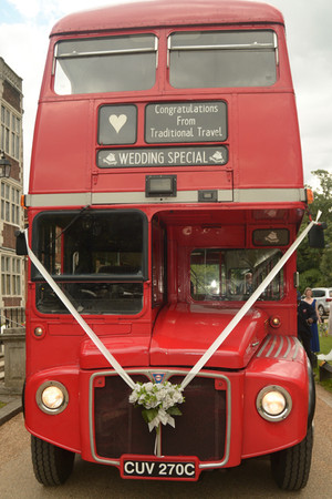 Wedding Special London Red Bus