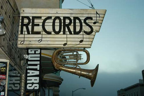 Record shop, San Francisco, 2007
