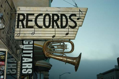 Record shop, San Francisco, 2007
