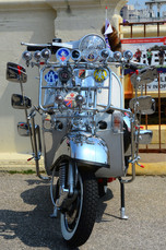 Brighton Mods scooter rally, 2016