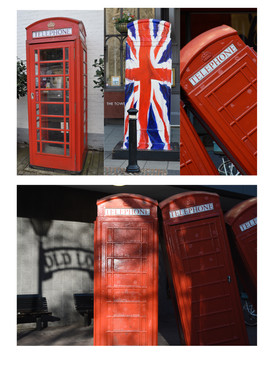 Telephone Boxes, London and Windsor, 2014