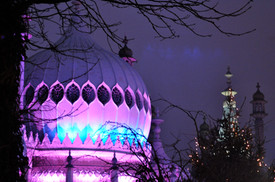 Royal Pavilion at Xmas
