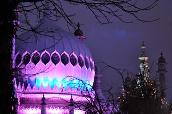 Royal Pavilion at Xmas