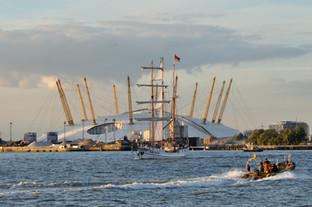 Tall Ships, O2 Stadium, Greenwich, Portrait,  2013