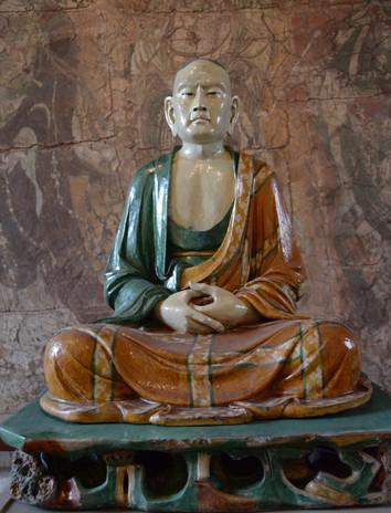 Luohan Chines Buddist saint achieved Nirvana, 2014