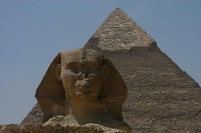 Sphinx, Pyramids, Cairo, Egypt, 2008