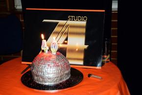 Marky's 40th Birthday Studio 54 night, cake 2014