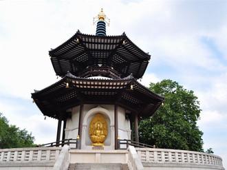 Buddah Peace Pagoda, Battersea Park, London
