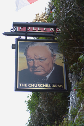 The Churchill Arms, Kensington, London 2016