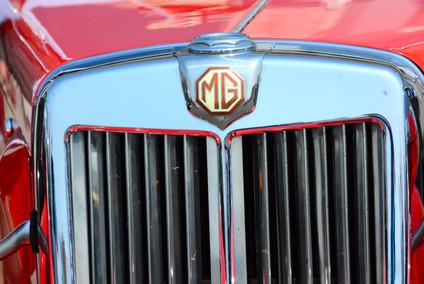 Classic MG car run (detail) Brighton (2), 2016