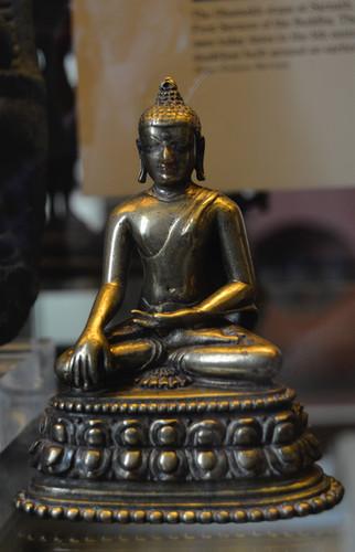 Bronze Buddah statuette, 2014