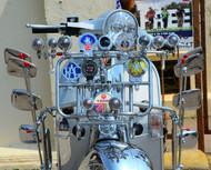 Vesper, Mods scooter rally, detail  Brighton, 2016