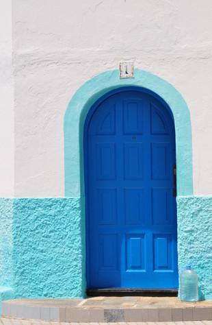 Canarian front door, 2013