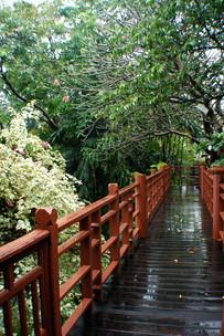 Walkway, Summer Palace, Bangkok, 2008