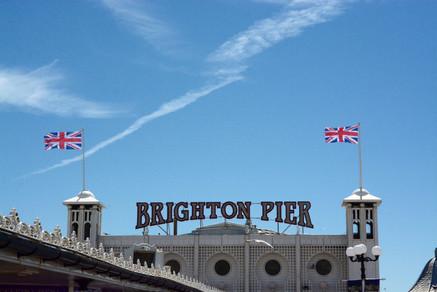 Brighton Pier  Cropped Colour Landscape, 2015