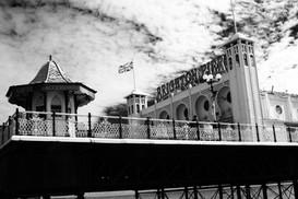 Brighton Pier B & W Landscape, 2015