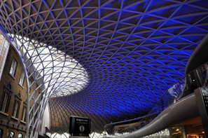New roof (1) King's Cross Station, London, 2013