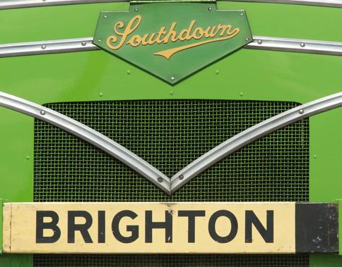 Vintage Brighton Bus detail, 2010