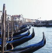 Blue Gondolas, Venice, 2005