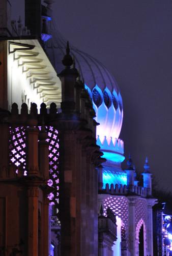 Xmas at the Royal Pavilion, Brighton