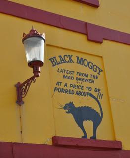 Black Moggy Beer, Brighton pub, 2012