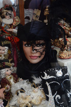 Venetian Masked lady, 2014
