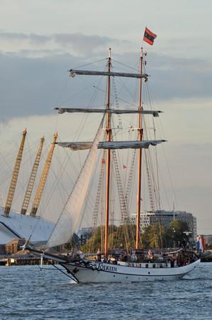 Tall Ships, O2 Stadium, Greenwich, 2013