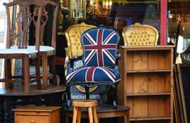 Antique shop, Portobello Road, London, 2016