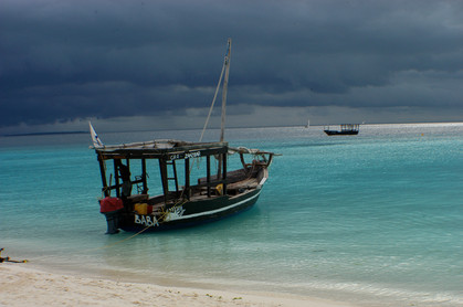 Sunset Dhow trip, Zanzibar, 2008