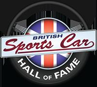 British Sports Car Hall of Fame Logo