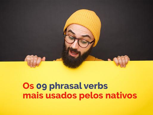 Os 09 phrasal verbs mais usados pelos nativos