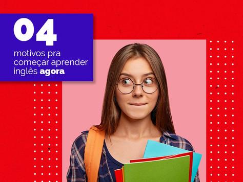 04 motivos pra começar aprender inglês agora