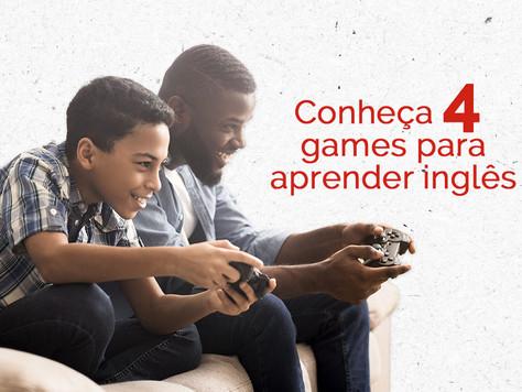 Conheça 4 games para aprender inglês
