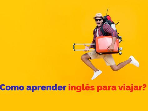 Como aprender inglês para viajar?
