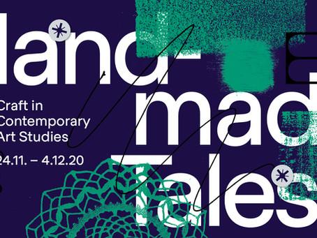 Die Hochschule für Bildende Künste Dresden veranstaltet digitales Symposium HANDMADE TALES