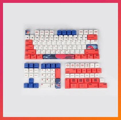 118 Keycaps Red Koi Full Set