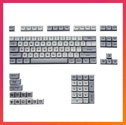 104 Keys Grey&White Keycap XDA
