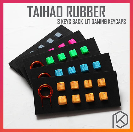 Taihao Rubber Gaming Keycap