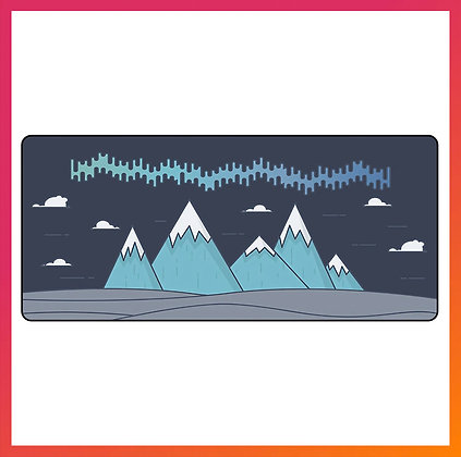 FBB Extra Large Mouse Pad Mountains