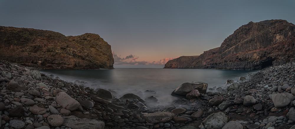 Amanecer en Playa del Juncal, Gran Canaria