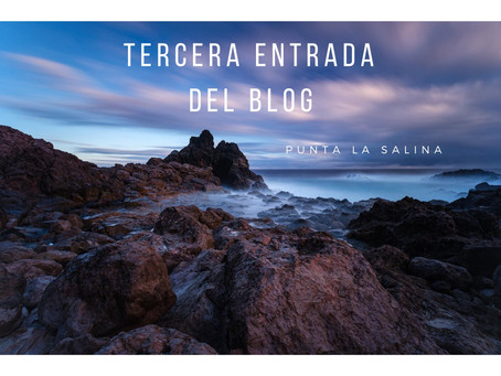 Punta la Salina, costa de Arucas
