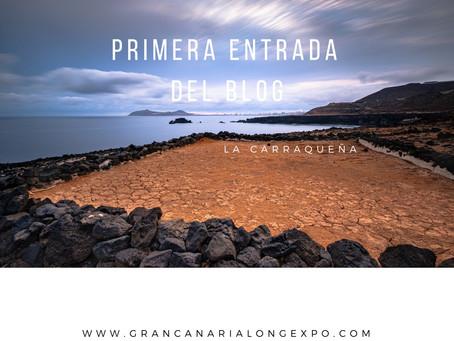 Amanecer en La Carraqueña, costa de Arucas