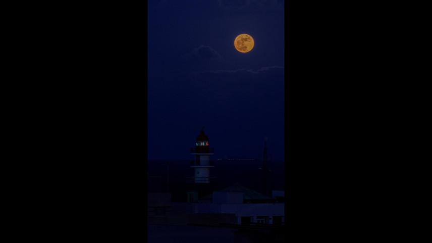 Timelapse Luna de Fresa