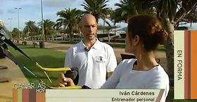 Iván Cárdenes Entrenador Personal Entrevista Televisión Canaria