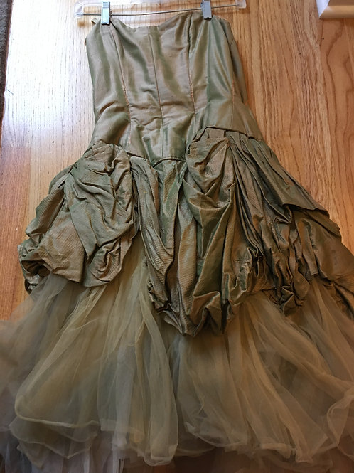 Adult Women's Brown Tulle