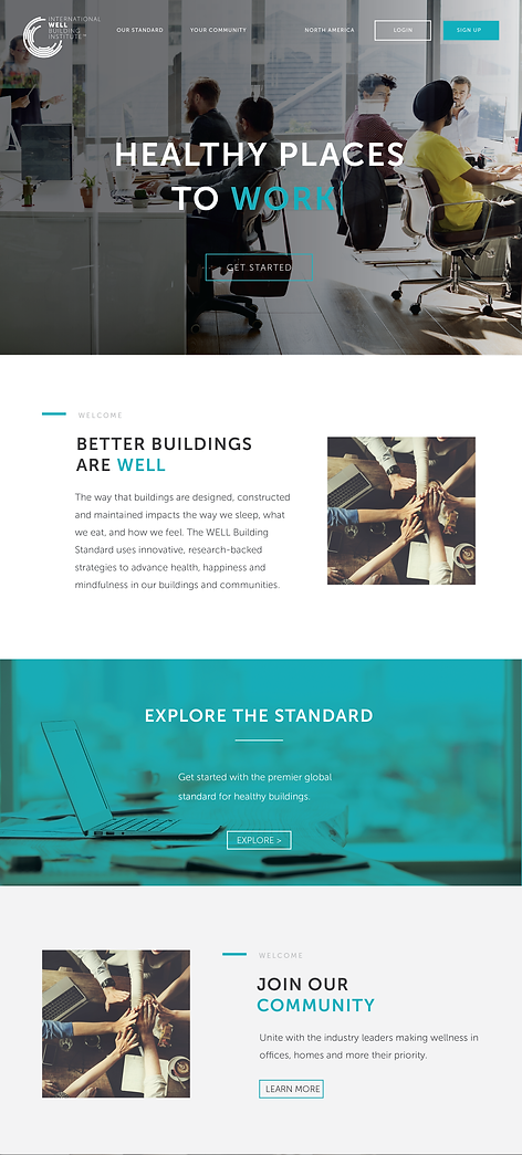 Well Institute Website Design Lynx Design Co